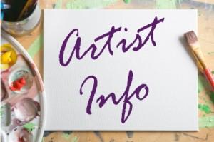artist info logo