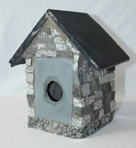 The Stone Birdhouse