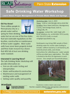 water workshop