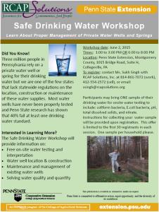 water workshop