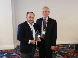 Edwin Vazquez-Asencio with Robert Stewart, Director of RCAP, Inc.